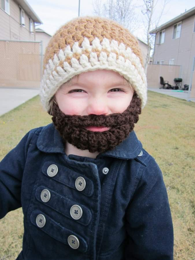 28282ff4015 Beard Beanie  A Free Pattern to Make Your Own